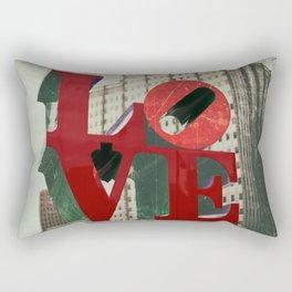 Love Sign Philadelphia Rectangular Pillow