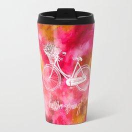 Hello Spring  Travel Mug