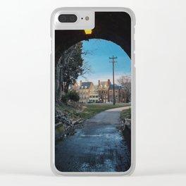 Alexandria Virginia Clear iPhone Case