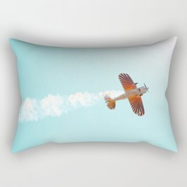 Aerobatic Biplane Rectangular Pillow