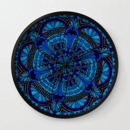 Mandala Ocean Wall Clock