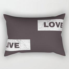 Love live laught Rectangular Pillow