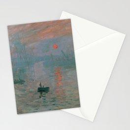 Claude Monet - Impression, Sunrise Stationery Cards
