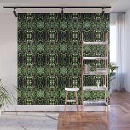 Seedlings pattern Wall Mural