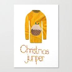 christmas jumper Canvas Print