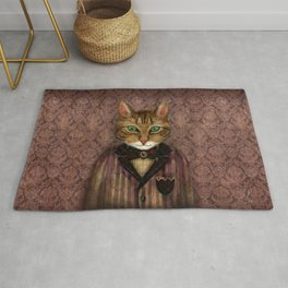 Sir Harold And His Mouse Betty Rug