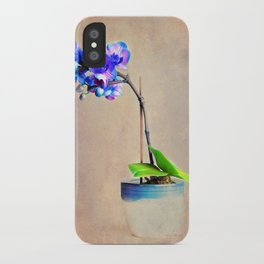 blue Orchid iPhone Case