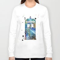 tardis Long Sleeve T-shirts featuring Tardis by Beth Naeyaert