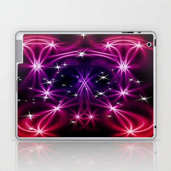 Abstract stars Laptop & iPad Skin