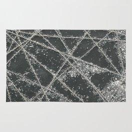 Sparkle Net Black Rug