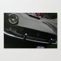 ferrari Canvas Prints featuring Ferrari by Bionic Phil