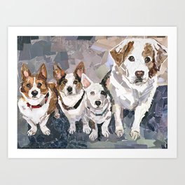 The Gray Family Art Print