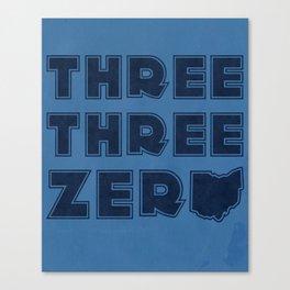 Three Three Zero - OHIO Canvas Print