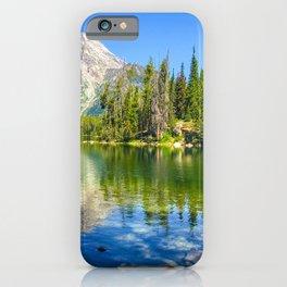 Grand Teton National Park Jenny Lake Alpine Mountains Hike iPhone Case