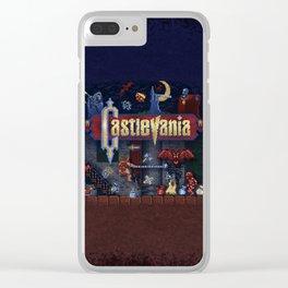 Vania Castle Clear iPhone Case