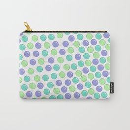 Bubble Drops Pattern Print Carry-All Pouch