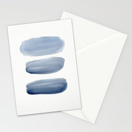 Watercolor blue 1 Stationery Cards