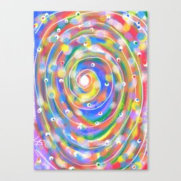The Big Flush Canvas Print