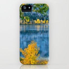 Image USA Lake McDonald Glacier National Park Nature Mountains park mountain Parks iPhone Case