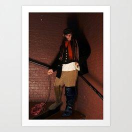 Rein It In - Captain Kidd Art Print
