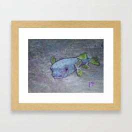 Cayman Puffer Framed Art Print