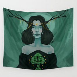 Queen of Spades Wall Tapestry