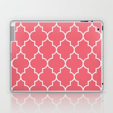 Constantine Lattice Coral Pink Laptop & iPad Skin