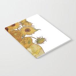 Sunflowers of Van Gogh Notebook