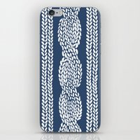 Cable Navy iPhone Skin