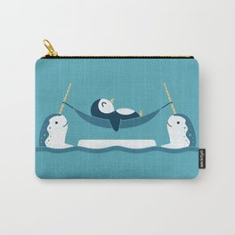 Chilling With Narwhals Carry-All Pouch