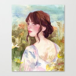 April Canvas Print