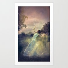 A Muse of Fire Art Print