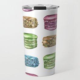 Colorful Macaroon Variety Travel Mug