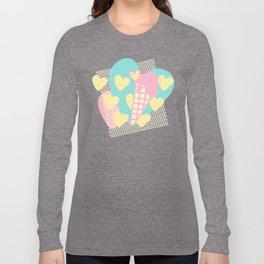 Smashed Pastel Icecreams Long Sleeve T-shirt