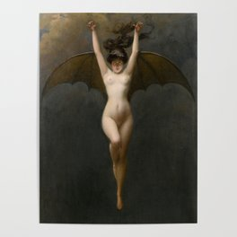 The Bat Woman Albert Joseph Pénot Poster
