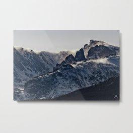 Rocky Mountain Winter Metal Print