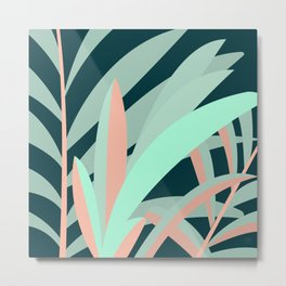 Jungle Yard Metal Print
