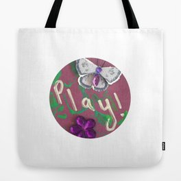 Play Charm Tote Bag