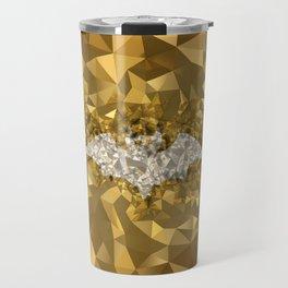POLYNOID Bat / Gold Edition Travel Mug
