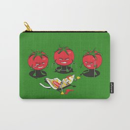 100% Tomate Natural Carry-All Pouch