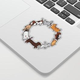 Social Circle Sticker