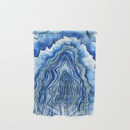 Blue Geode Wall Hanging
