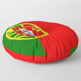 Portugal flag Floor Pillow