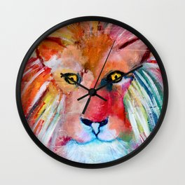 Lion of Judah Wall Clock