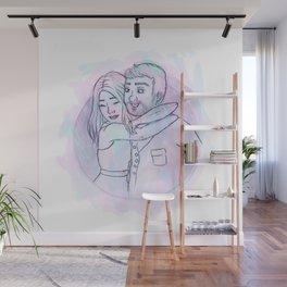 Couple Wall Mural