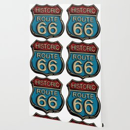 Historic Route 66 Sign Wallpaper