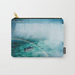 Niagara Falls Rainbow Carry-All Pouch