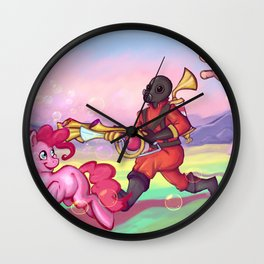 Pinkie Piero Wall Clock