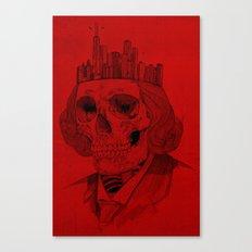 untouchable city Canvas Print