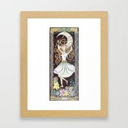Spring Maiden Framed Art Print